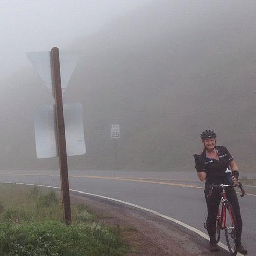 @littlebigtoe and I enjoyed the fog horns yesterday #headlands #fog