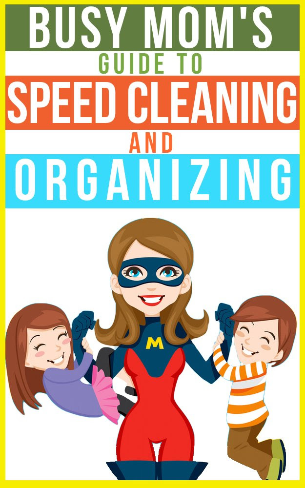 The Busy Mom's Guide To Speed Cleaning And Organizing: How To ...