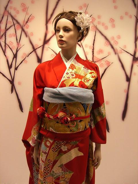 Kimono; Japanese traditional garment: 着物