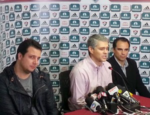 Peter Siemens Fluminense coletiva (Foto: Rafael Cavalieri)