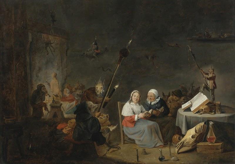 Картинки по запросу david teniers witches