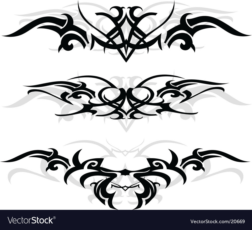cac5bcd59 Tribal Tattoo Designs Vector. Artist: AKV; File type: Vector EPS