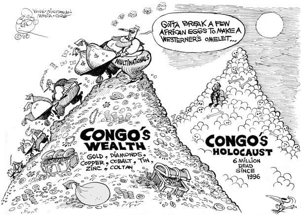 Congo's holocaust by Khalil Bendib