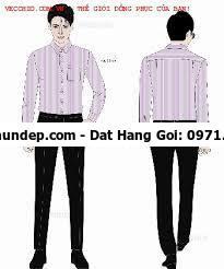 mẫu áo sơ mi đồng phục công sở