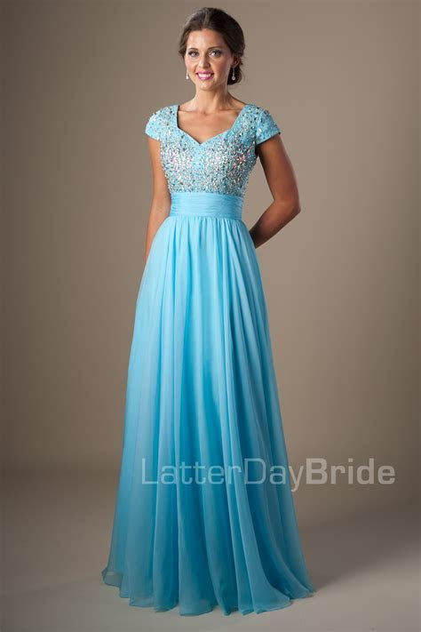 Modest Prom Dresses : Dixie THIS SITE IS AMAZING