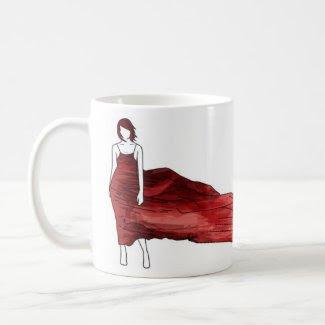 blowing mug