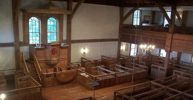 The Puritanical Controversy Over The Meetinghouse Stove New