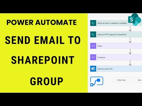 Send email to all users from SharePoint Group using Power Automate