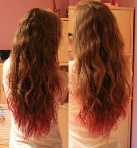 Frisur Locken über Nacht Haare Wachsen Schneller