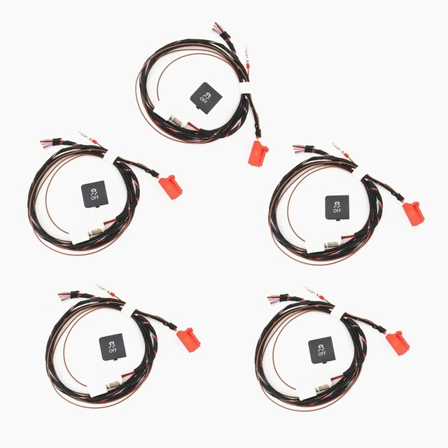Special Price READXT 5 Set Traction Control ESP OFF ASR Switch Button With Cable Harness Plug Car Accessories For Golf MK6 Jetta 5 MK5 6