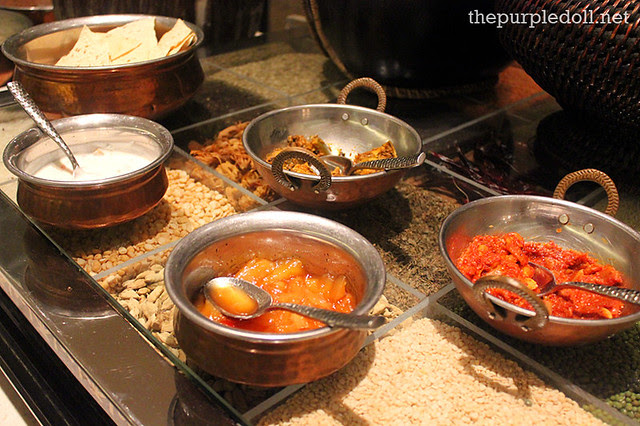 North Indian Food at Spiral Sofitel