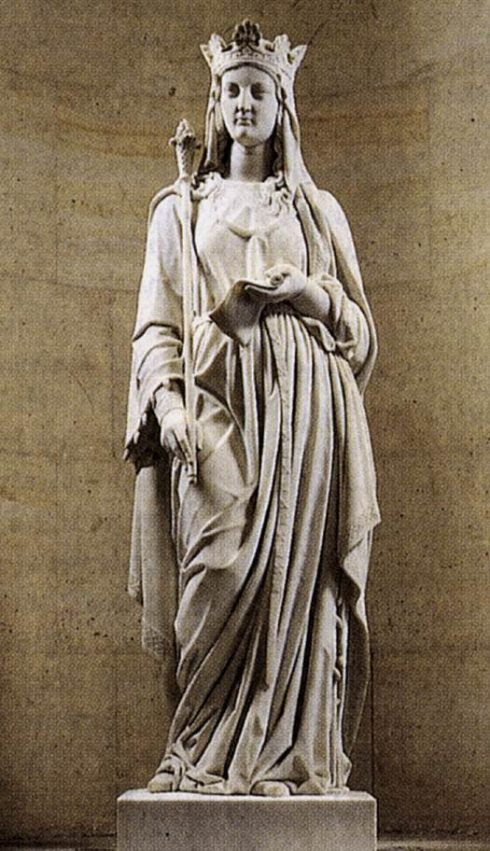 Blanche of Castile Sculptor Antoine Etex located at Versailles