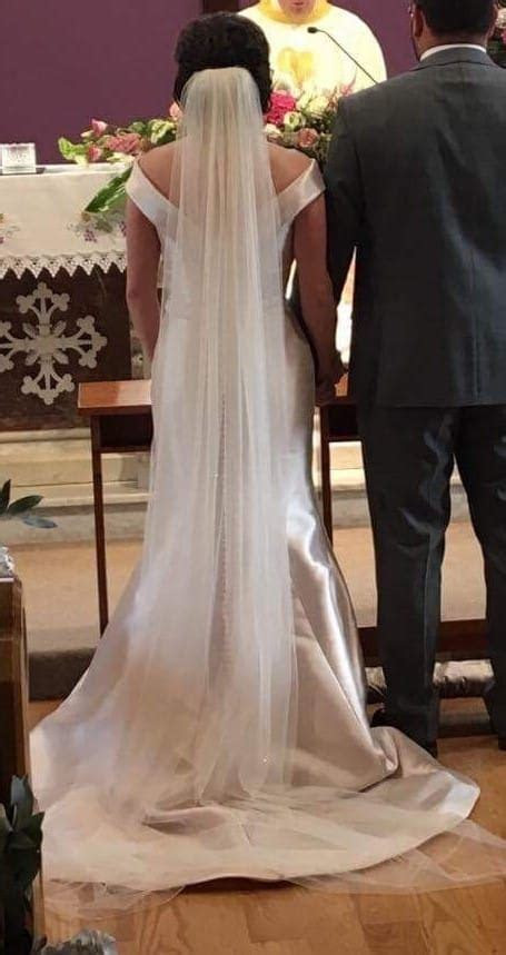 Ronald Joyce Amanda wedding dress & matching veil   Sell
