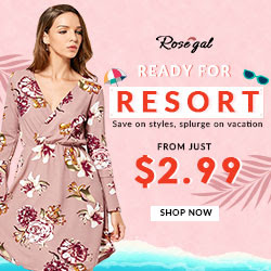 Ready for Resort: From just $2.99+Free Shipping