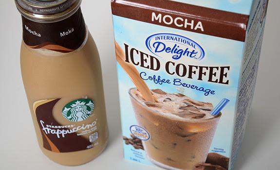 Food Fight International Delight Vs Starbucks Frappuccino Cold Coffee Beverages Nearof