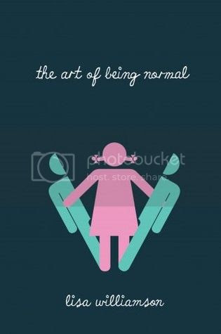 The Art of Being Normal by Lisa Williamson UK Cover