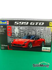 Maqueta de coche 1/24 Revell - Ferrari 599 GTO   - maqueta de plástico