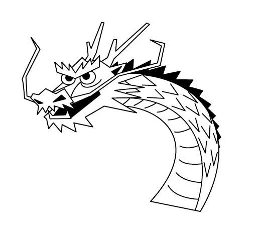 龍 イラスト 簡単 書き方