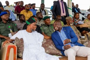 Aregbesola Attends NYSC Swearing-In Ceremony In Osun (Photos)