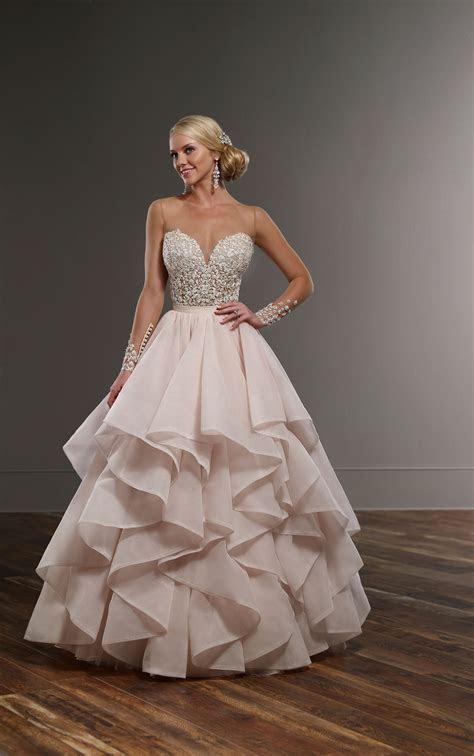 Layered Skirt Wedding Separates   Martina Liana Wedding