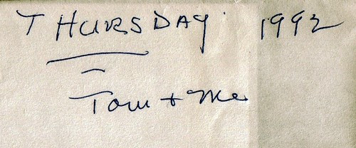 Envelope 1992 by midgefrazel
