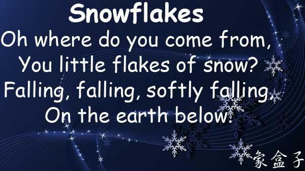 snowflakes snow flakes