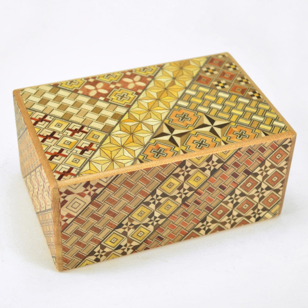 Handcrafted Koyosegi Puzzle Box from Dogwood Hill Gifts