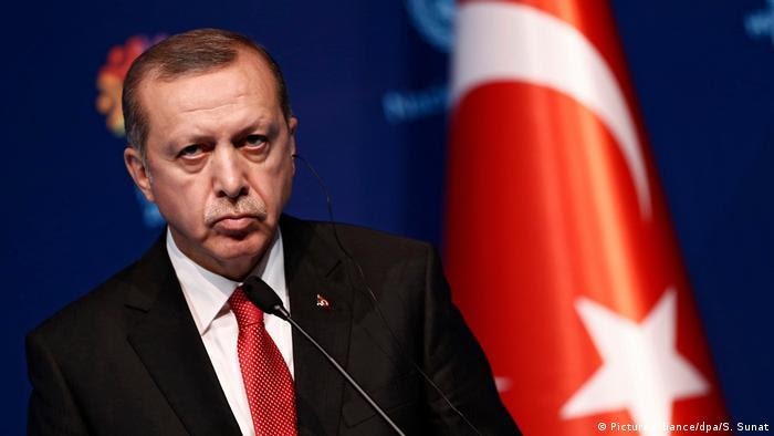 Türkei Präsident Recep Tayyip Erdogan (Picture-Alliance/dpa/S. Sunat)