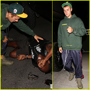 Justin Bieber Hits Photographer With Truck After Leaving Church (Video)