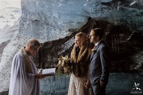 Ice Cave Elopement Adventure in Iceland: Ashley   David