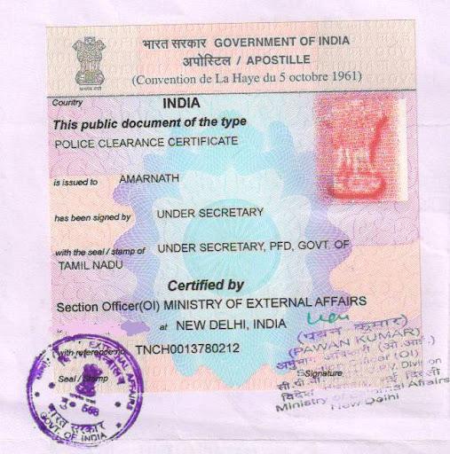 Andhra govt  HRD/GAD/NRI attestation/authentication