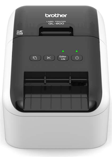 Brother QL800 Label Printer - Print in Black & Red (Upto