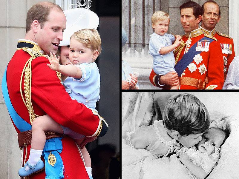 3 Generations of Royals, 1 Blue Onesie: All About Prince George's Heirloom Outfit| The British Royals, The Royals, Prince Charles, Prince George, Prince William