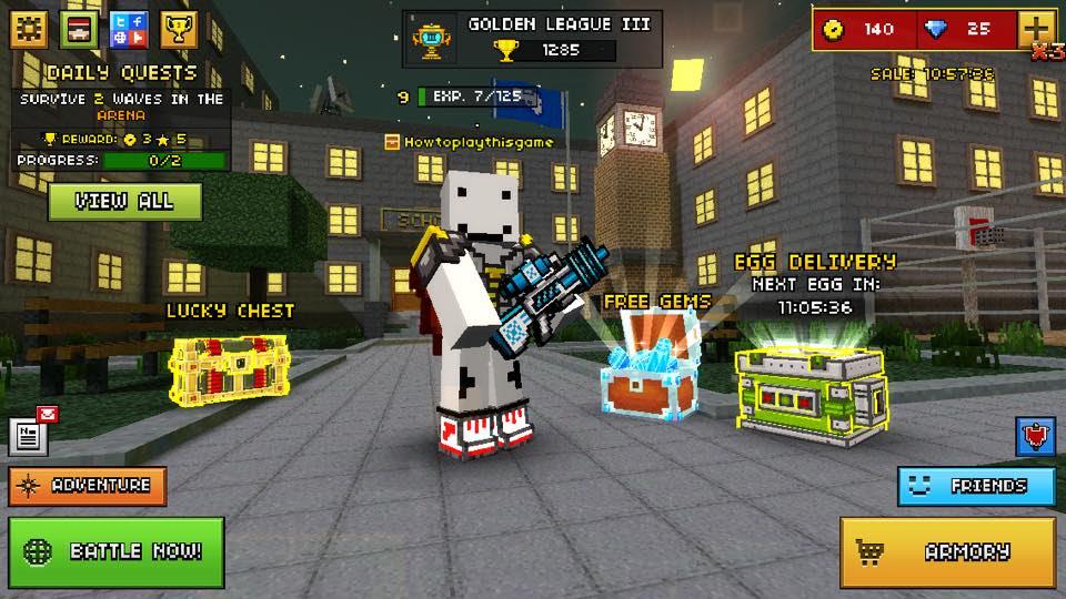 tải Pixel Gun 3D cho ios iphone
