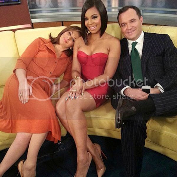 Watch: Ashanti performs 'Let It Snow' on 'Good Day NY'...