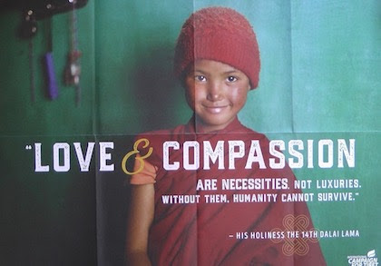 Love Compassion Are Necessities Not Luxuries A Message From Lee