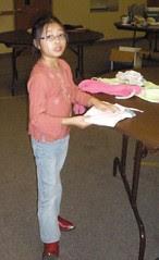 Olivia Folding Clothes