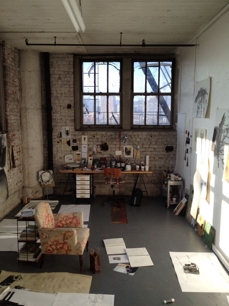 MaryAnn Puls' studio space
