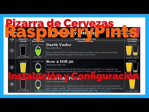 RaspberryPints: Configuración y funcionamiento