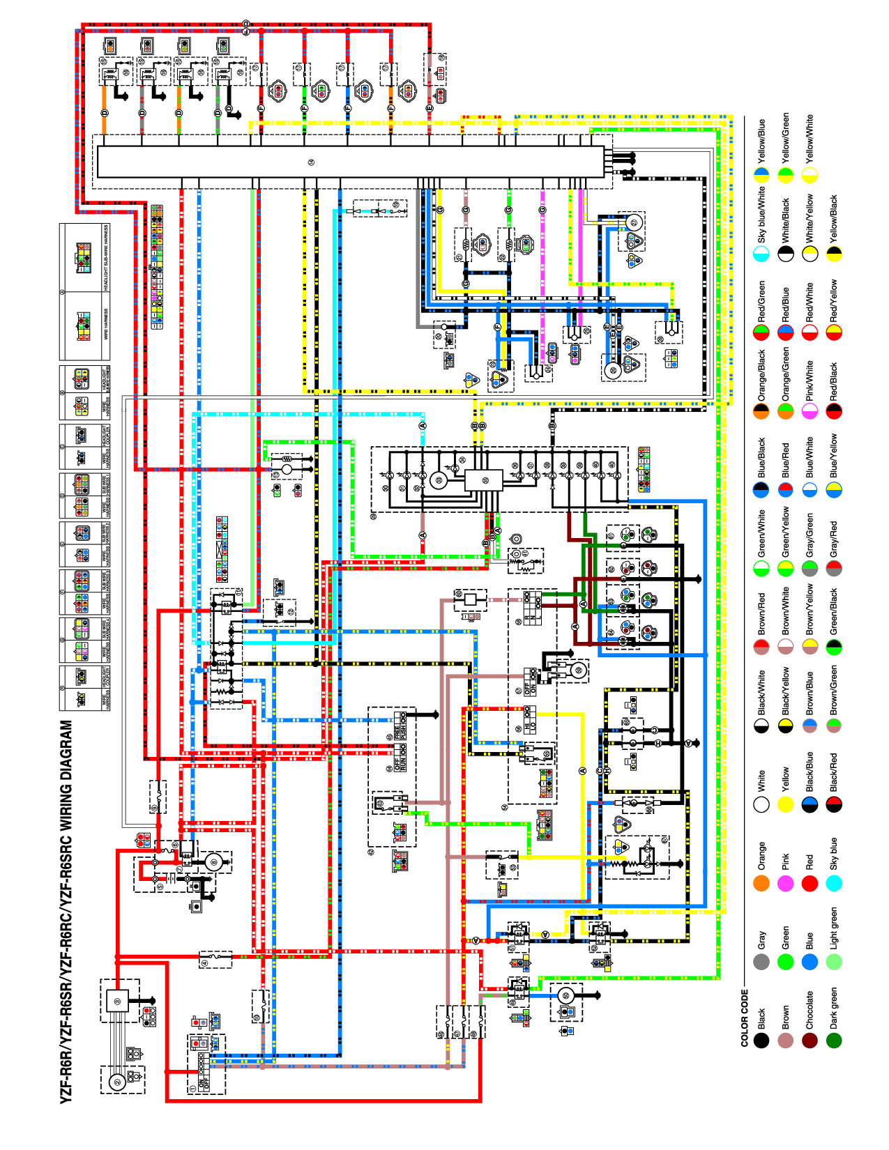 2012 Yamaha R6 Wiring Diagram Full Hd Version Wiring Diagram Snel Yti Fr