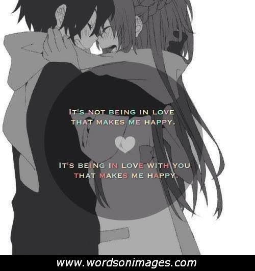 Anime Love Quotes. QuotesGram