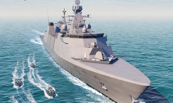 Для Королевских ВМС Великобритании заложен первый фрегат класса 31 Inspiration