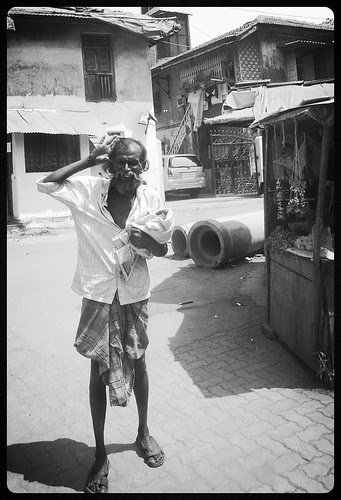 The Mad Man Of Bandra Bazar Gaothan by firoze shakir photographerno1