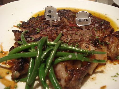 myron's president steak
