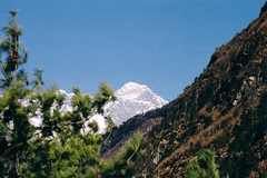 Everest from Namche Hill