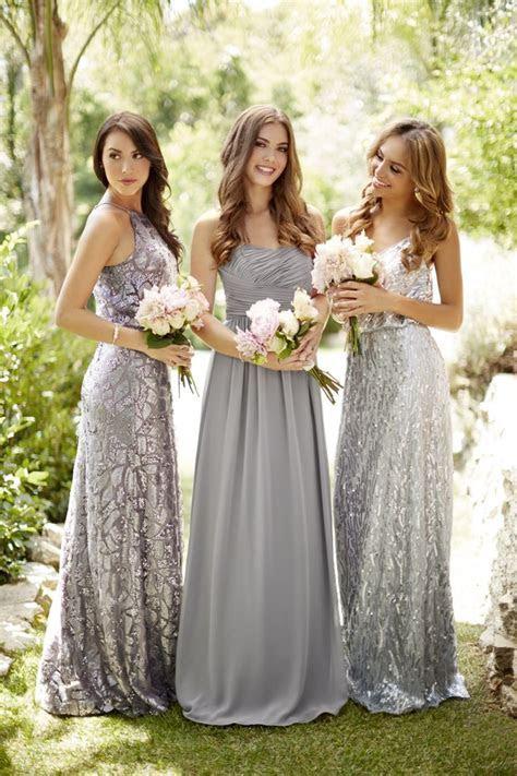 Best 25  Silver bridesmaid dresses ideas on Pinterest