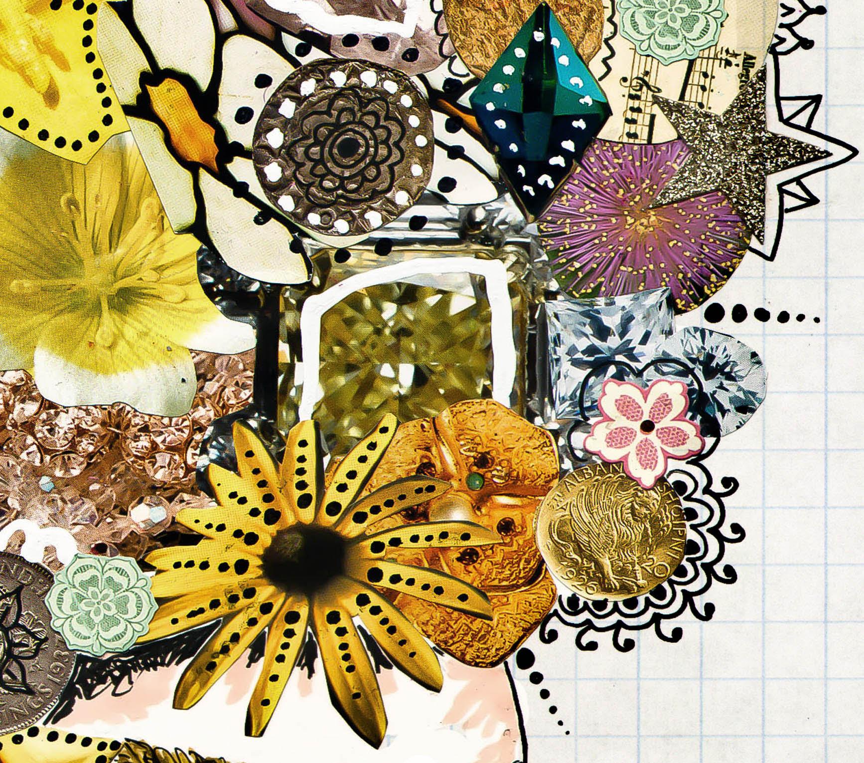 Be Fabulous - 11 x 14 paper print, fashion illustration ...