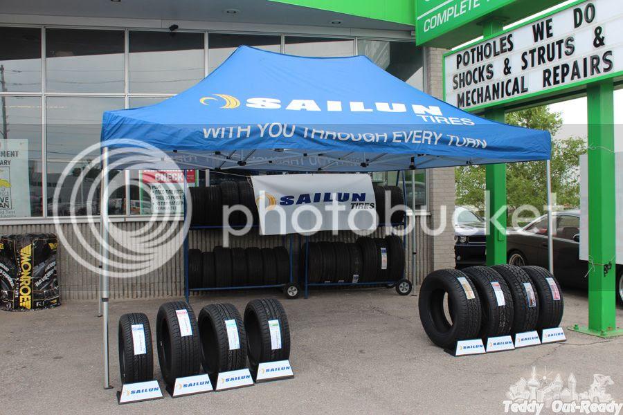 Sailun Tires Tent