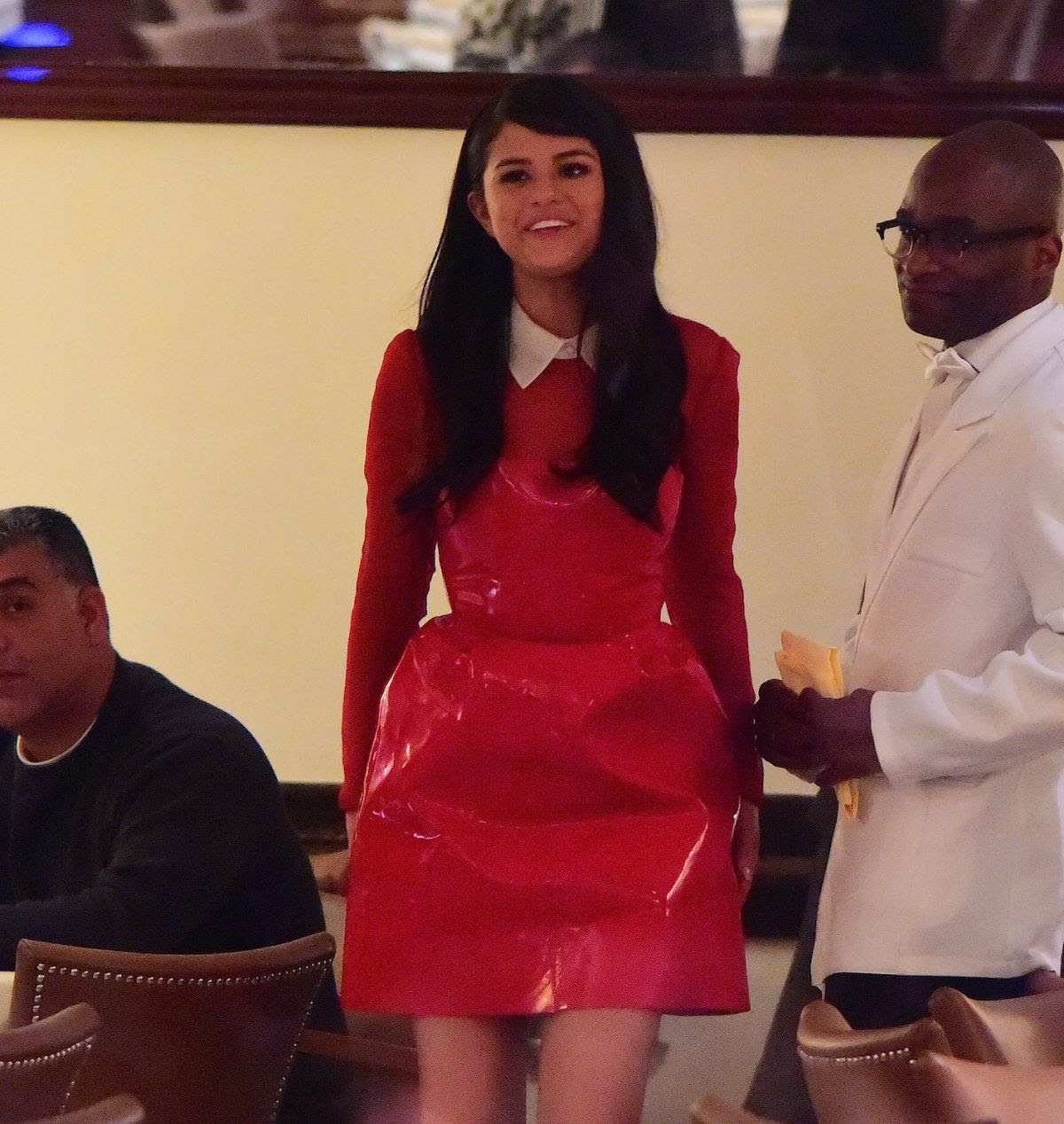 SELENA GOMEZ at Ciprianis in New York 11/009/2015
