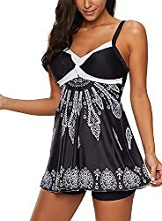80% Off Coupon Code For Women Elegant Swimdress One-Pieces